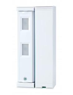 FTN-R | Detector doble PIR autoalimentado para exteriores cobertura 5 x 1m