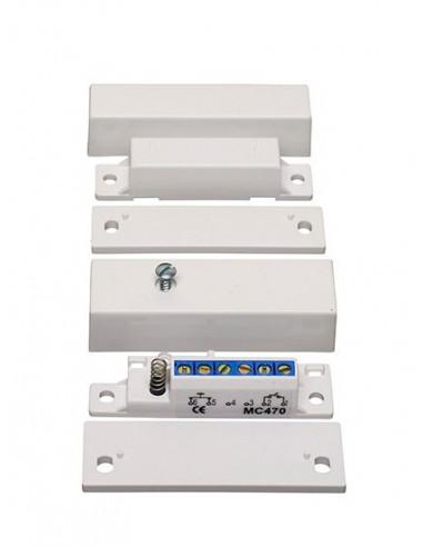MC470 |CONTACTO MAGNETICO SERIE MC400  EN 50131, Grado 3