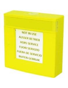 FDMH293-Y  Carcasa amarilla, con vidrio y llave