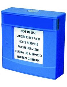 FDMH293-B  Carcasa azul, con vidrio y llave