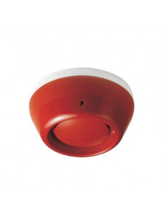 BFDS221-R  KIT Sirena de lazo, roja,  con Base Direccionable FDB222. Compatible con FDnet/C-NET