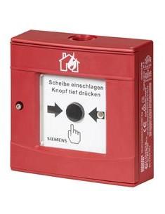 KDM1103  KIT Pulsador convencional intemperie rojo. Acción indirecta.