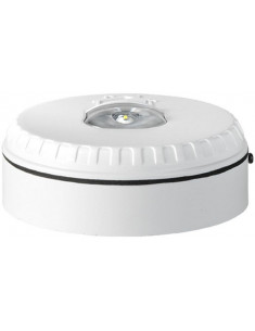 SOL-LX-W-WW  Flash luminoso con carcasa color blanco y flash color blanco,