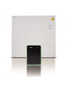 AP10M-12  Kit controlador Aliro + lector de tarjeta Mifare+ F.A.12Vdc en armario metalico