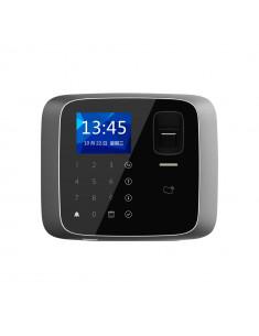 ASA1212A  Terminal biométrico autónomo de control de accesos con lector de tarjetas MIFARE. Teclado táctil.