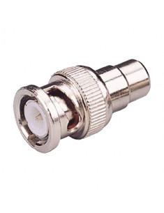 CON210        Conector     BNC macho     RCA hembra  25 mm (Fo)  10 mm (An) 5 g