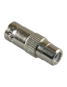 CON215  Conector BNC hembra RCA hembra 28 mm (Fo) 10 mm (An) 5 g