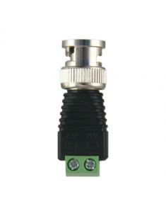 CON290  Conector BNC macho Salida +/ de 2 terminales 40 mm (Fo) 13 mm (An) 12 g