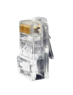 CON300  Conector RJ45 para crimpar Compatible con cable UTP 20 mm (Fo) 10 mm (An) 5 g