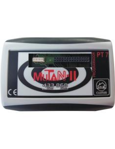 PT 7  Programador avanzado MUTAN II. Gestión instalaciones a través de PC y software SW 7.