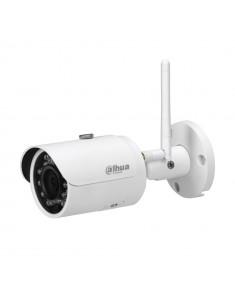 IPC-HFW1435S-W  ámara bullet WiFi IP Dahua Consumer de 4MP con iluminación infrarroja de 30 m para exterior.