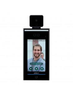 ASI7213X-T     Lector Autónomo LCD táctil de Reconocimiento Facial+PIN+Tarjeta y Temperatura corpora