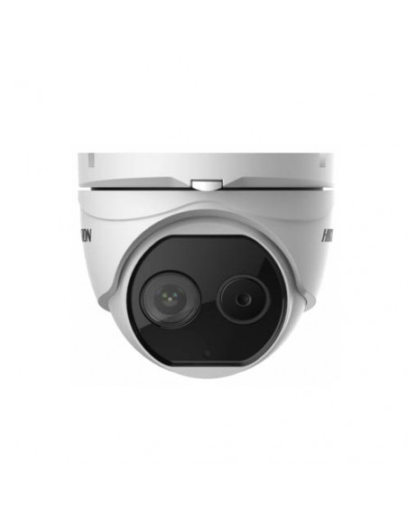 DS-2TD1217B-6/PA     Cámara minidomo termográfica.
