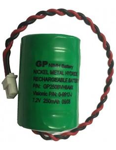 0-9912-J  Pila 7,2V 250mA para sirena MCS-700